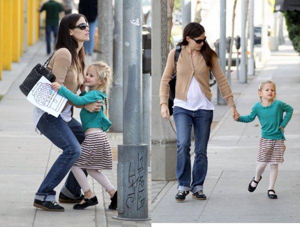 Jennifer Garner et sa fille Violet  !