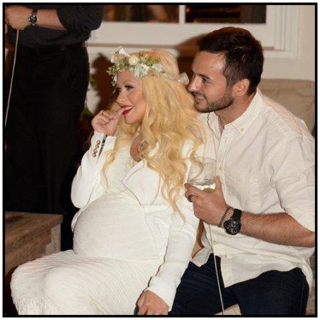 Baby Shower de Christina Aguilera !