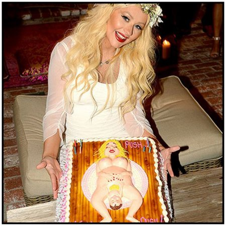 Baby Shower de Christina Aguilera !