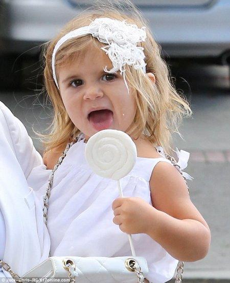 Penelope Scotland Disick, 2 ans !
