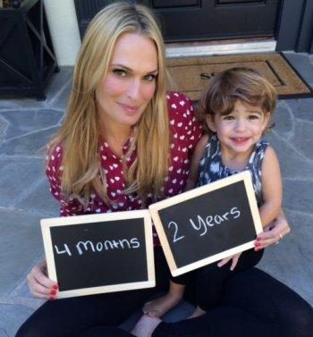 Molly Sims enceinte de son deuxième enfant !