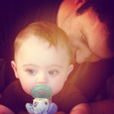 Brian Austin Green et son fils Bodhi, 7 mois et demi !