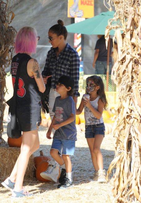 Jennifer Lopez et ses jumeaux Emme et Max !