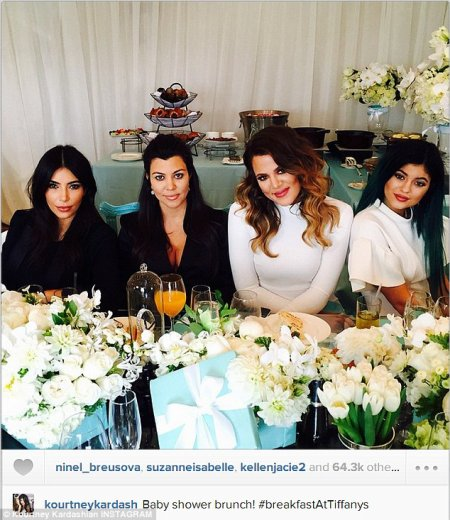 Baby Shower de Kourtney Kardashian !