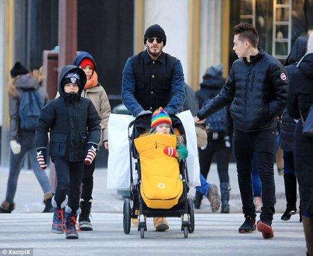 Famille Beckham !