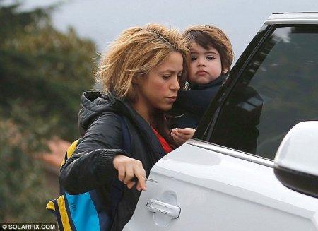 Shakira et son fils Milan !