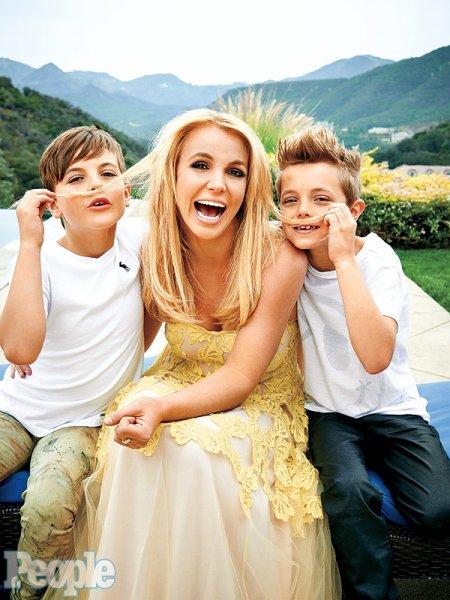 Britney Spears et ses fils Sean Preston, 9 ans et demi et Jayden James, 8 ans et demi  !