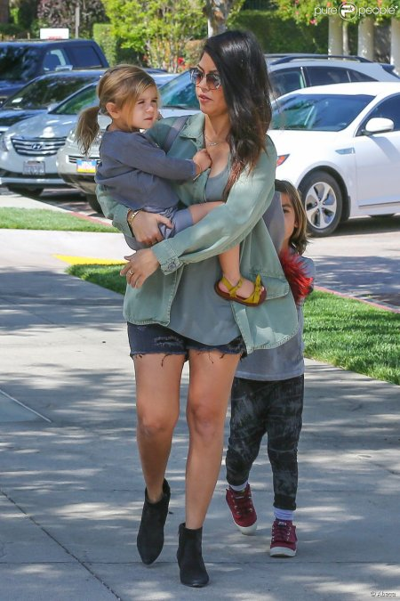 Kourtney Kardashian et ses enfants Mason et Penelope !