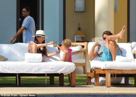Kourtney Kardashian en famille !