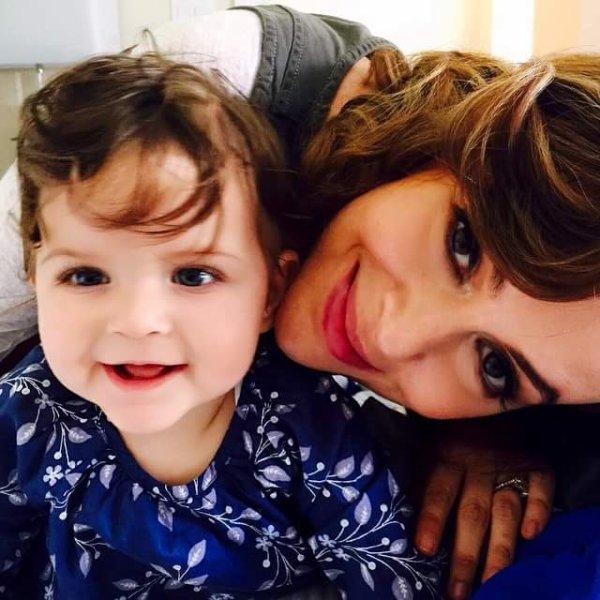Alyssa Milano et sa fille Elizabella, 8 mois et demi !