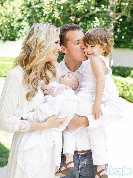 Molly Sims en famille !