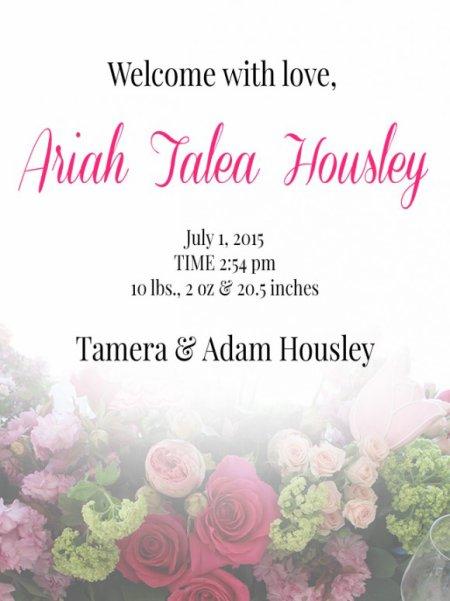 Tamera Mowry-Housley maman pour la deuxième fois !