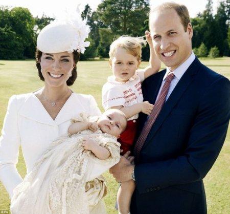Baptême de Charlotte Elizabeth Diana De Cambridge !