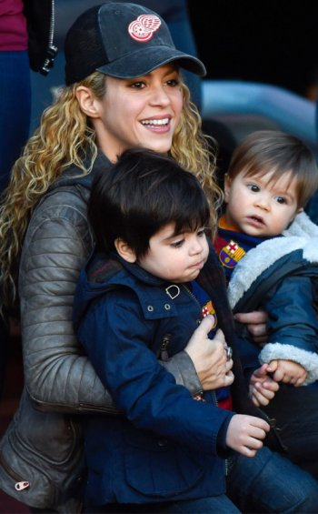 Shakira en famille !