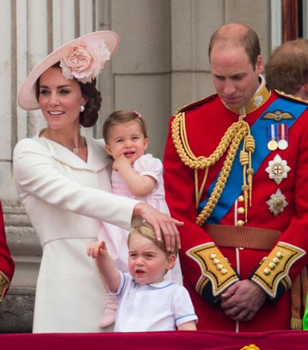 Kate Middleton en famille !