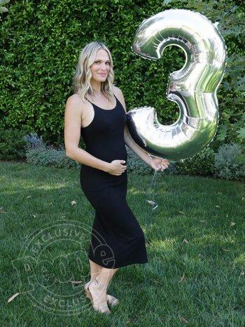 Molly Sims enceinte de son troisième enfant !