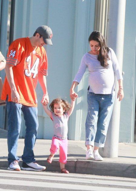 Mila Kunis et Ashton Kutsher parents pour la deuxième fois !