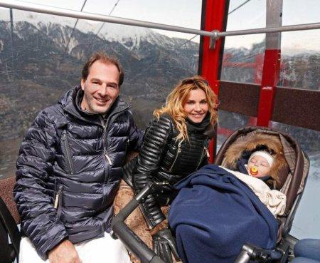 Ingrid Chauvin en famille !