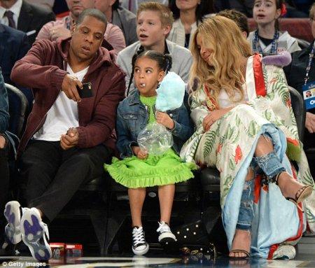 Beyoncé en famille !