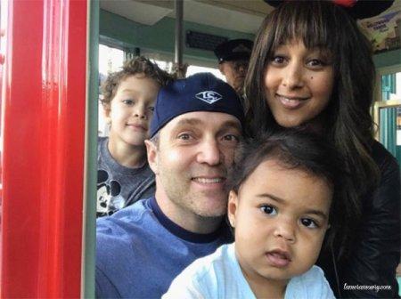 Tamera Mowry-Housley en famille !