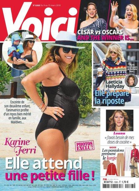 Karine Ferri enceinte de son deuxième enfant !