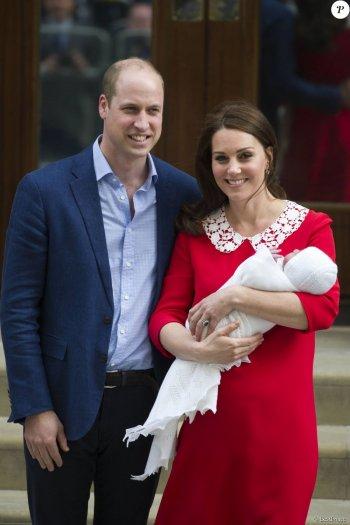 Le Duc et la Duchesse de Cambridge parents pour la troisième fois !