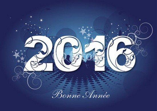 je vous souhaite bonnee année et bonne santé 2016