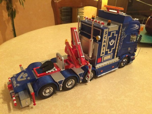 maquette camion 1/24 scania truck