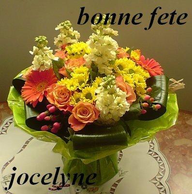 Carte Bonne Fete Jocelyne.Bonne Fete A Toutes Les Jocelyne Bonjour A Tous