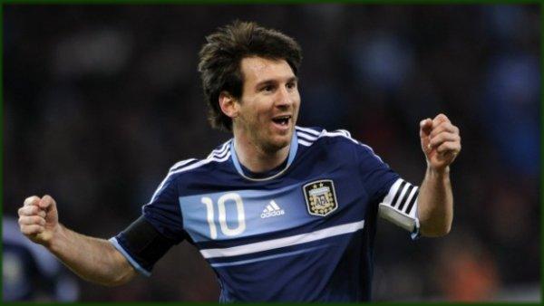 Attaquant - Lionel Messi / 2012