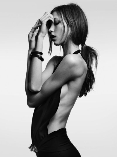 EXQUISTE SHOOTING_ Karlie Kloss by Hedi Slimane For Vogue Japan_Part1