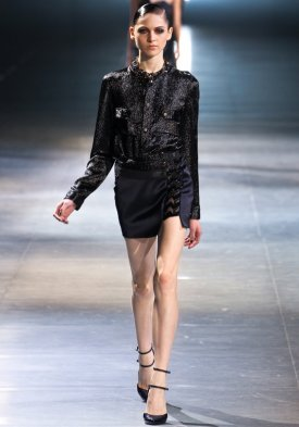 HALT ON DESIGNER_Anthony Vaccarello 2012-13