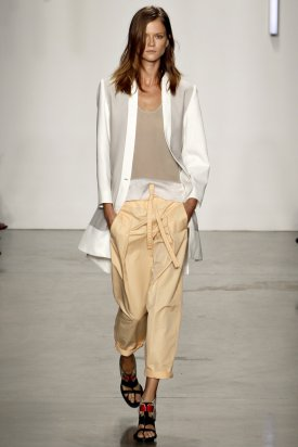 Fashion Week of New York : Helmut Lang et autres...