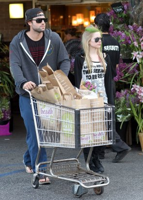 Shopping at Whole Foods Market - April 14, 2011