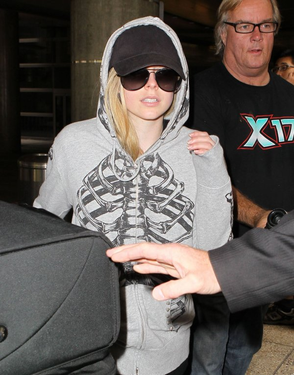 At LAX Airport - June 17, 2012