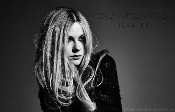 ONLY-AVRILLAVIGNE IS BACK !