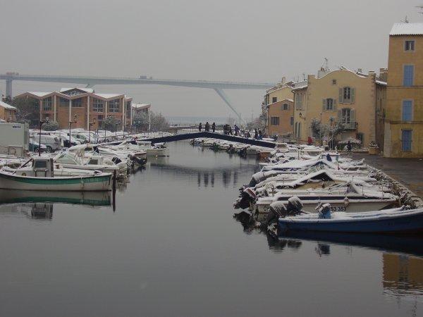 La Venise Provençale sous la neige