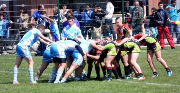 entraigues XIII vs Baho # victoire#48-14# la rouste!