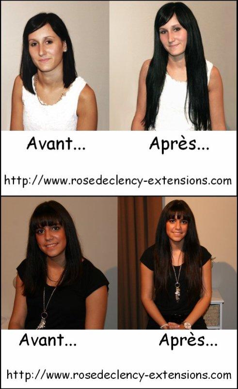 Extensions de cheveux Rose de Clency => http://www.rosedeclency-extensions.com