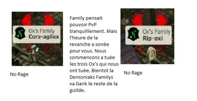 Demoniaks Vs Ox's !
