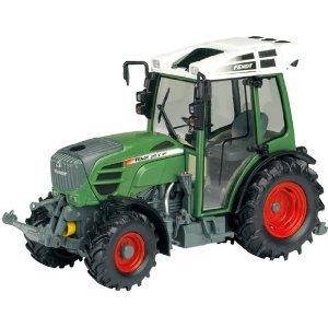 Mon Prochain miniature / Schuco  Véhicule Miniature Tracteur Fendt 211 V Vario - Echelle 1 / 32