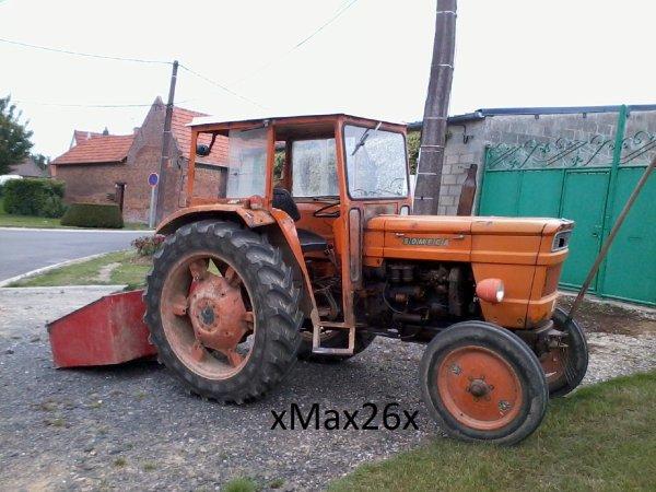 Voici les tracteurs que j'ai déjà conduit