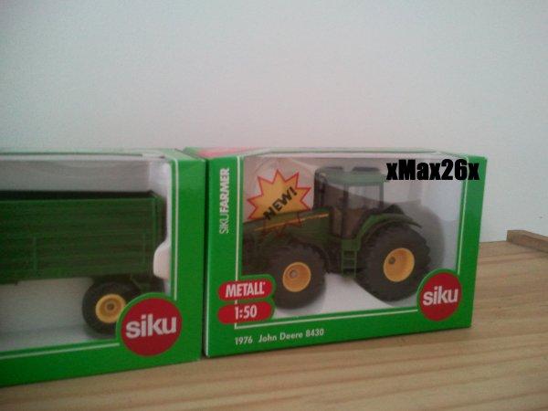 Voici ma Collection  de Tracteur Miniature - John Deere