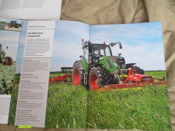 Arrivage de new brochures Fendt =D