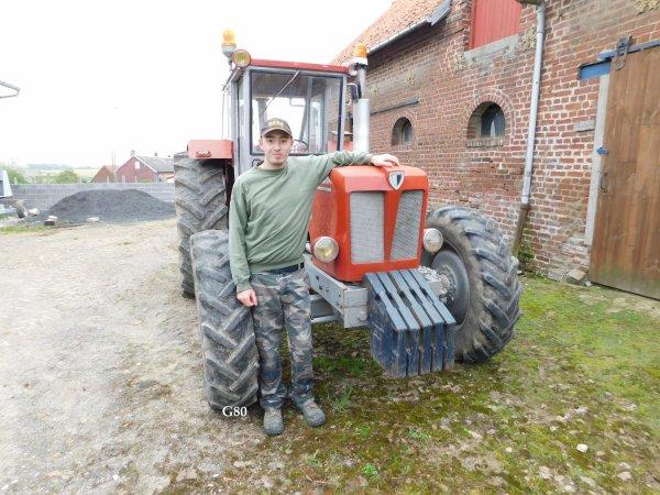Schlüter 6600 de 1975 :) , un tracteur bien rare dans nos campagnes malheureusement :(