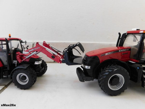 Case IH Farmall 115 U vs Case IH Magnum 340