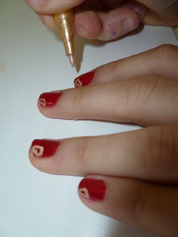 1 000 visiteurs!!!! Nouveaux articles: Nail art Love