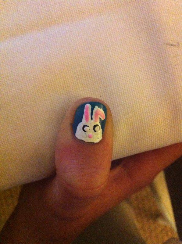 Tuto Nail art spécial Pâques