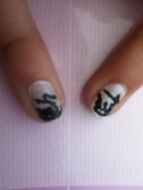 Tuto Nail art Divergente