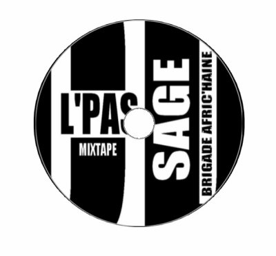 CD L'PAS SAGE / Ridfa feat Maghrébi - C'est la guerre  (2011)